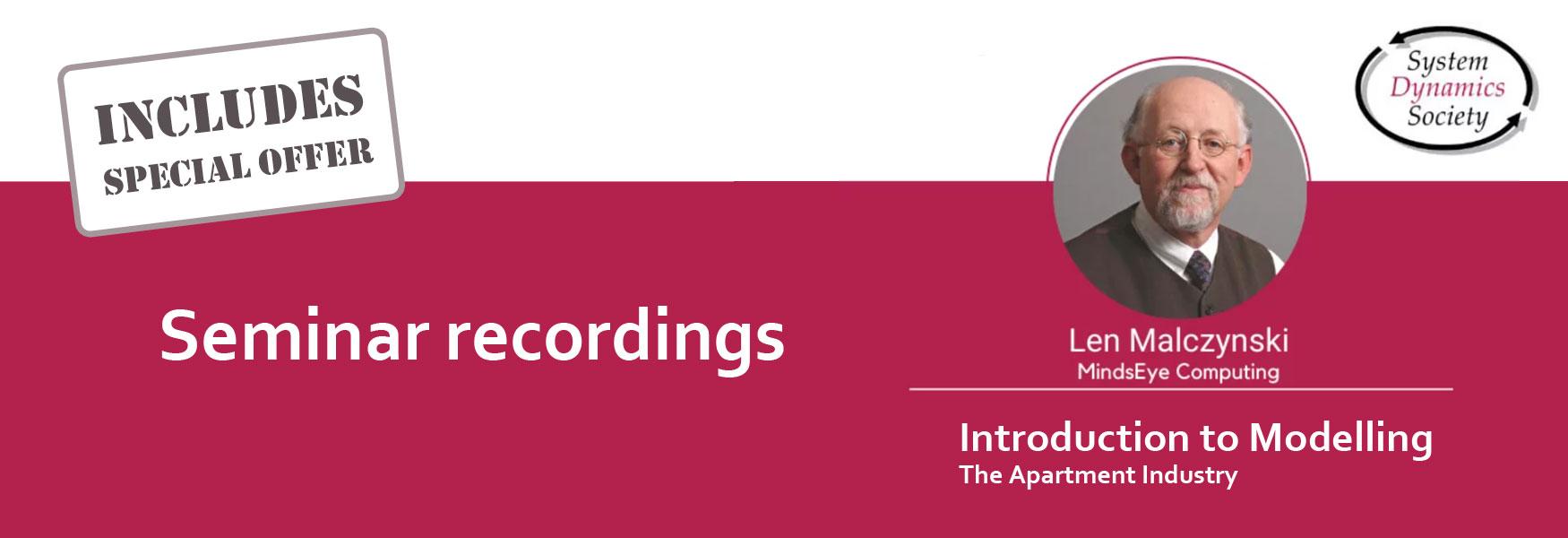 Seminar Recordings
